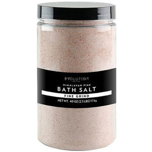 Himalayan Bath Salt Fine Grind 40 oz by Evolution Salt (2590185717845)