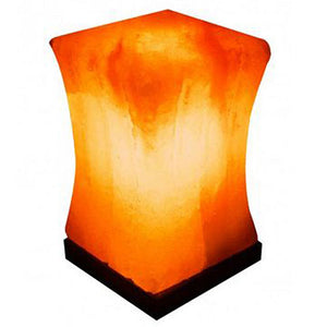 Pillar Salt Lamp 1 Count by Evolution Salt (2590185586773)