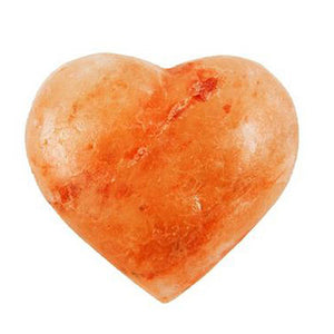 Heart Massage Stone 6 oz by Evolution Salt (2590185422933)