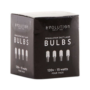 Clear Bulb 15W 4 Packs by Evolution Salt (2590185390165)