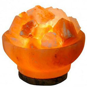 Fire Bowl Salt Lamp 6 in by Evolution Salt (2590185226325)