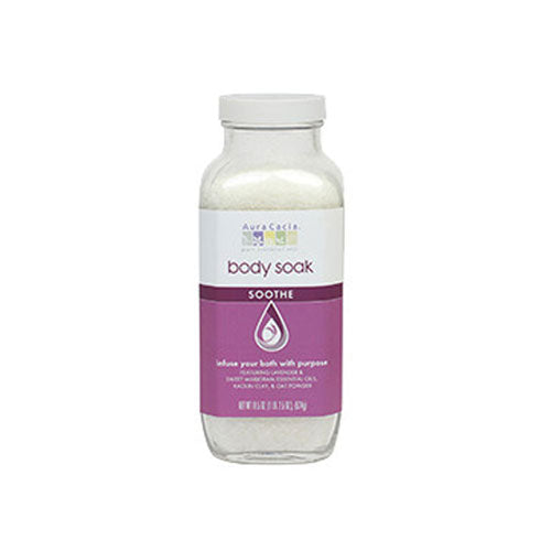 Body Soak Bath Salts Soothe 18.5 oz by Aura Cacia