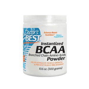 Instantized BCAA 2:1:1 Powder 10.6 oz by Doctors Best (2590182735957)