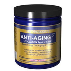 Anti Aging 3 Collagen Mixed Berry 600G by Dr. Venessa's Formulas