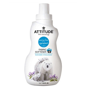 Fabric Softener 40 Loads Wildflowers 33.8 oz by Attitude (2588303163477)