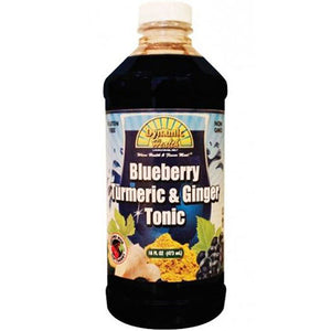 Gluten Free Tonic Cranberry Turmeric & Ginger 16 oz by Dynamic Health Laboratories (2590181359701)