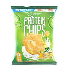 Protein Chips Sour Cream & Onion 8 Bags by Quest Nutrition (2588299657301)