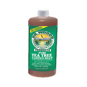 Tea Tree Castile Soap 16 Oz by Dr.Woods Products