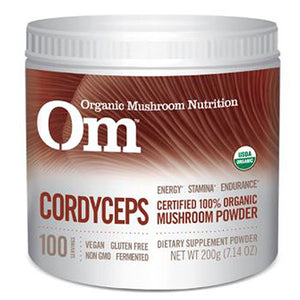 Organic Cordyceps Mushroom Powder 7.14 Oz by NRG Matrix