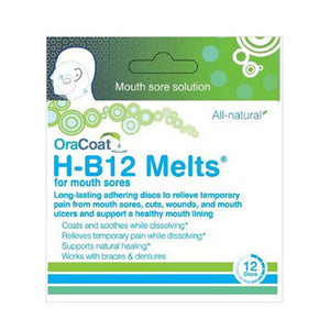 B12 Melts For Mouth Sores 12 Count by OraCoat (2590178213973)