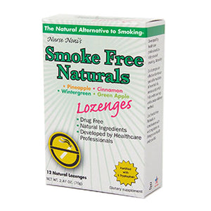 Smoke Free Natural Lozenges 12 Count by Three Lollies