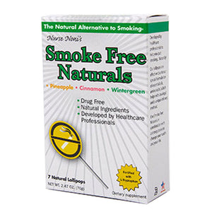 Smoke Free Natural Pops 7 Count by Three Lollies