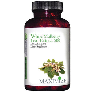 White Mulberry Leaf Extract 60 Veg Caps by Maximum International (2588287336533)