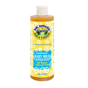 Baby Castile Soap Shea Butter 8 Oz by Dr.Woods Products