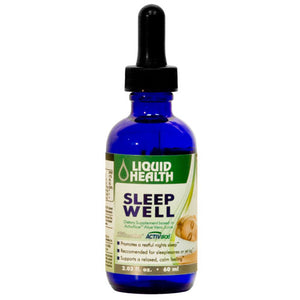 Sleep Well Gluten Free 59 ml by Liquid Health