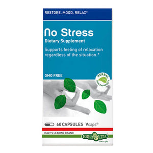 No Stress Caps 60 Caps by Erba Vita (2588282912853)