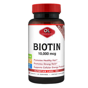 Biotin 60 Tabs by Olympian Labs (2588279930965)