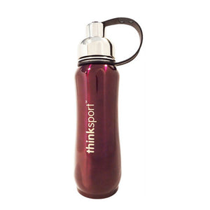 Insulated Sports Bottle Purple 17 Oz by Thinkbaby (2590175461461)