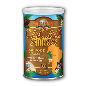 Cacao Nibs Chocolate Berry 5 Oz by FunFresh Foods