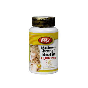 Biotin 60 Veg Caps by Natural Balance (Formerly known as Trimedica)  (2588277604437)