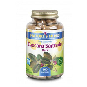 Cascara Sagrada 100 Caps by Nature's Herbs(Zand) (2590174773333)