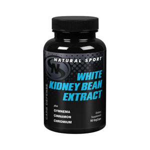 White Kidney Bean Extract Mega+ 90 Vcaps by Natural Sport (2590174740565)