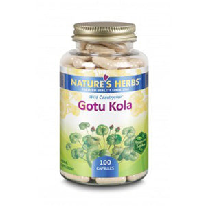 Gotu Kola 100 Caps by Nature's Herbs(Zand) (2590174642261)