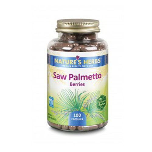 Saw Palmetto Berries 100 Caps by Nature's Herbs(Zand)