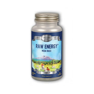 Raw Energy, Mega Buzz Timed Release 60 Caps by Premier One (2588276195413)