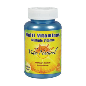 Multi Vitamins 60 Tabs by Nature's Life (2590173233237)