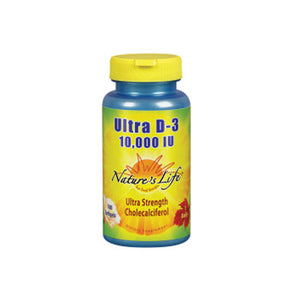 Ultra D-3 100 Softgels by Nature's Life (2590172840021)