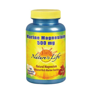 Marine Magnesium 100 Vcaps by Nature's Life (2590172774485)