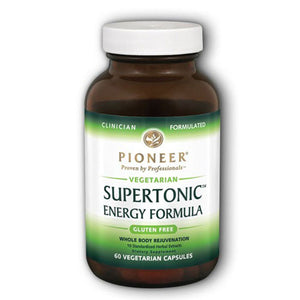 Supertonic 60 Vcaps by Pioneer Nutritionals (2590172414037)