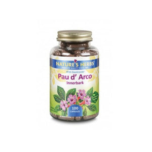 Pau D'Arco 100 Caps by Nature's Herbs(Zand) (2590170873941)