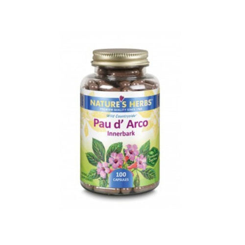 Pau D'Arco 100 Caps by Nature's Herbs(Zand)