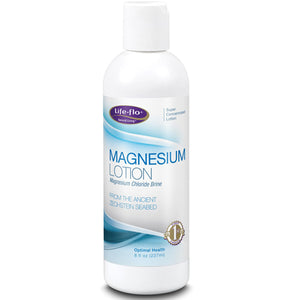Magnesium Lotion 8 Oz by Life-Flo  (2590170841173)