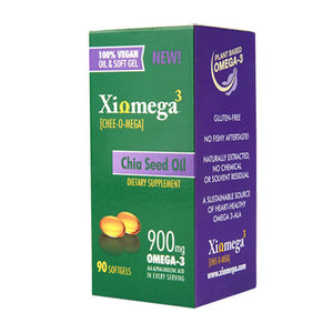Chia Seed Oil Softgels 90 Softgels by Xiomega3