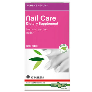 Nail Care Tablets 30 Tabs by Erba Vita (2588268068949)