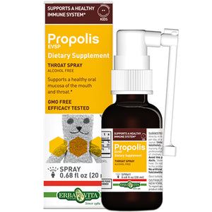 Propolis Esvp Kids Throat Spray .68 Oz by Erba Vita (2588267839573)