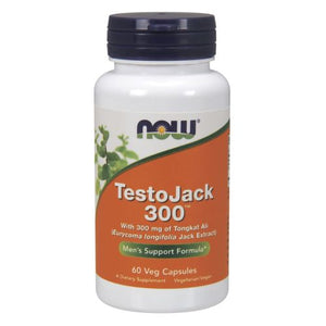 TestoJack 300 Extra Strength 60 Vcaps by Now Foods (2590166515797)
