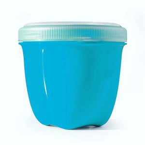 Food Storage Container Mini Aqua 8 Oz by Preserve