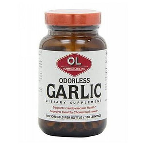 Odorless Garlic 30 Softgels by Olympian Labs