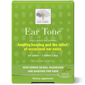 Ear Tone 60 Tabs by New Nordic US Inc (2590165270613)