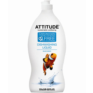 Dishwashing Liquid Citrus Zest 23.7 Oz by Attitude (2588258140245)