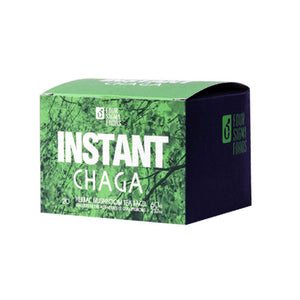 Instant Chaga On-The-Go Mushroom Beverage Bags 20 Count by Four Sigma Foods Inc (2588257714261)