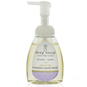 Argan Oil Foaming Hand Wash Lavender Vanilla 8 Oz by Deep Steep (2588256829525)