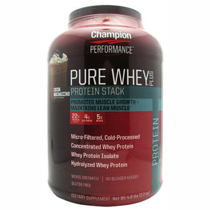 Pure Whey Plus Protein Powder Cocoa Mochaccino 4.8 lbs by Champion Nutrition (2588256501845)