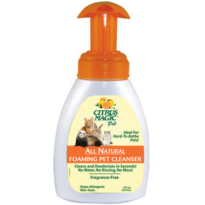 Foaming Pet Cleanser 8 Oz by Citrus Magic (2588256010325)