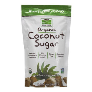 Organic Coconut Sugar 16 Oz by Now Foods