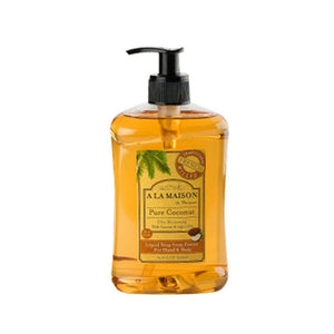 Liquid Soap Pure Coconut 16.9 Oz by A La Maison (2590153637973)